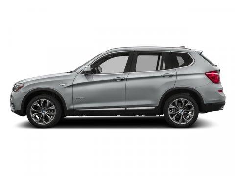 2017 BMW X3 sDrive28i Glacier Silver MetallicOyster V4 20 L Automatic 55 miles  DRIVER ASSIST