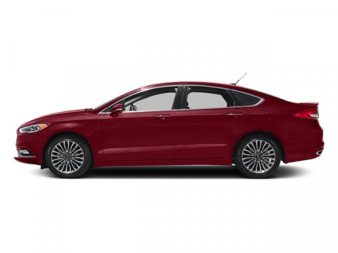 2017 Ford Fusion Sport Ruby Red Metallic Tinted ClearcoatBk Eth Gry LthMiko Sde V6 27 L Automa