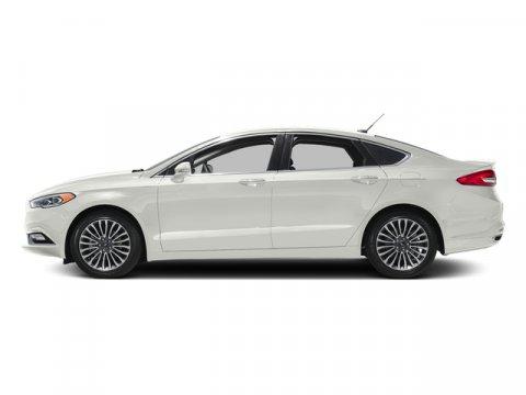 2017 Ford Fusion FUSION TITANIUM FWD White Platinum Metallic Tri-CoatEbony V4 20 L Automatic 0