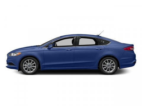 2017 Ford Fusion S Lightning BlueMed Lt Stn Clth Bkt Sts V4 25 L Automatic 0 miles The newly