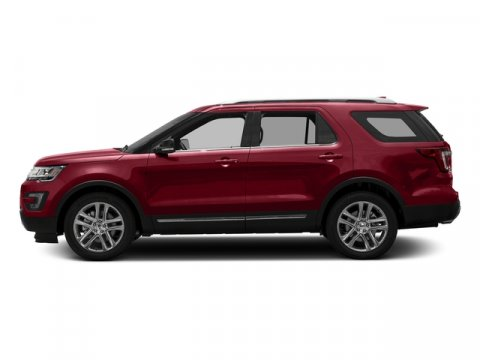 2017 Ford Explorer XLT Ruby Red Metallic Tinted ClearcoatEbony V4 23 L Automatic 0 miles The