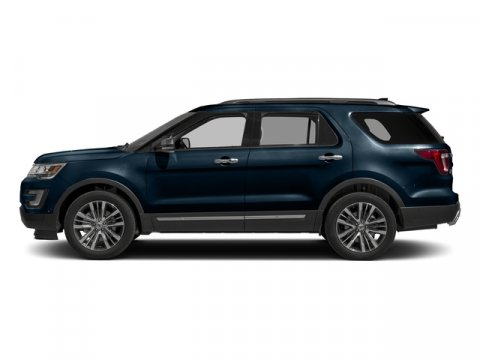 2017 Ford Explorer Platinum Blue Jeans MetallicMed Sft Crmc Nrvna V6 35 L Automatic 0 miles T