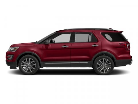 2017 Ford Explorer Platinum Ruby Red Metallic Tinted ClearcoatMed Sft Crmc Nrvna V6 35 L Automa