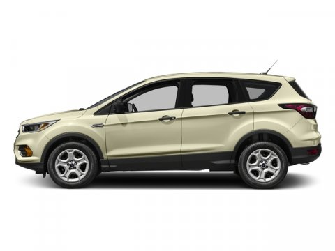 2017 Ford Escape S White Gold MetallicChr Blk Clth Bkts 6040 V4 25 L Automatic 0 miles The 2