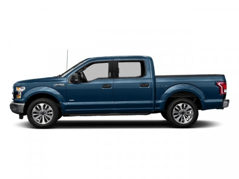 2017 Ford F-150 XLT Blue Jeans MetallicMed Lt Camel Cloth V8 50 L Automatic 0 miles Ford F-15