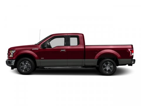 2017 Ford F-150 XLT Ruby Red Metallic Tinted ClearcoatMed Earth Gry Cloth V6 27 L Automatic 0