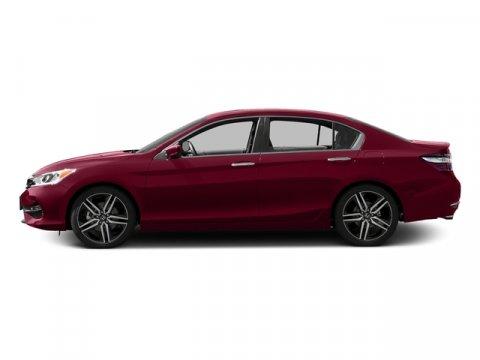 2017 Honda Accord Sedan Sport SE San Marino RedBlack V4 24 L Variable 0 miles  Front Wheel Dr