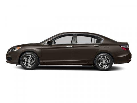 2017 Honda Accord Sedan LX Kona Coffee MetallicBLK CLOTH V4 24 L Variable 5 miles  Front Whee