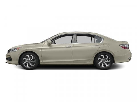 2017 Honda Accord Sedan EX-L Champagne Frost PearlIvory V4 24 L Variable 0 miles  Front Wheel