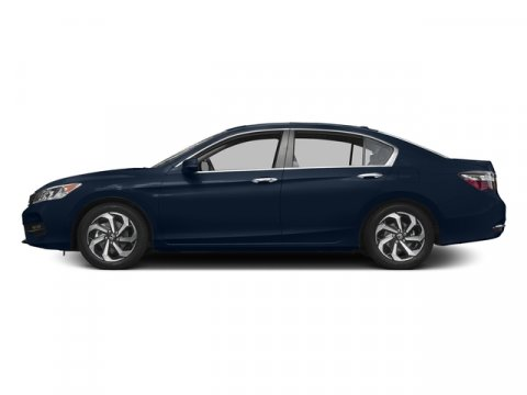 2017 Honda Accord Sedan EX-L Obsidian Blue PearlGray V4 24 L Variable 92 miles  Front Wheel D