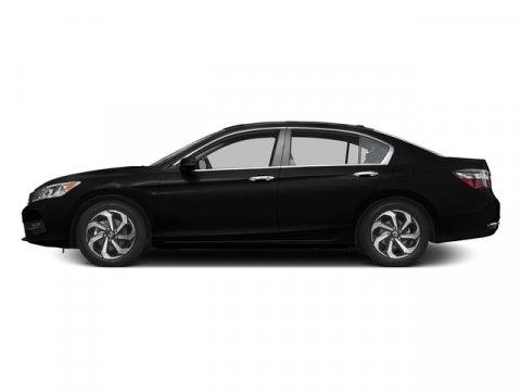 2017 Honda Accord Sedan EX-L Crystal Black PearlIvory V4 24 L Variable 0 miles  Front Wheel D
