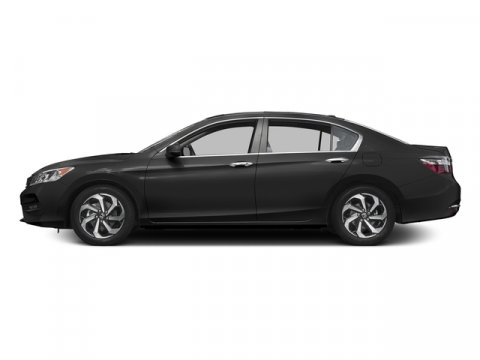 2017 Honda Accord Sedan EX-L Modern Steel MetallicBlack V4 24 L Variable 0 miles  Front Wheel