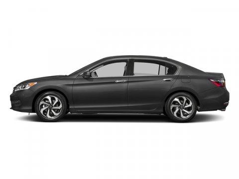 2017 Honda Accord Sedan EX-L V6 Modern Steel MetallicBlack V6 35 L Automatic 0 miles  Front W