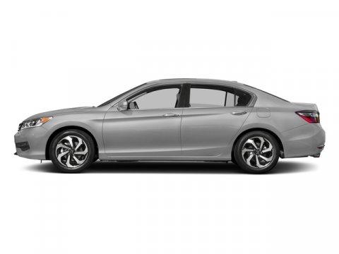2017 Honda Accord Sedan EX-L V6 Lunar Silver MetallicBlack V6 35 L Automatic 0 miles  Front W