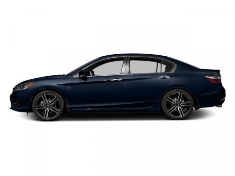 2017 Honda Accord Sedan Sport Obsidian Blue PearlBLK CLOTH V4 24 L Variable 0 miles  Front Wh