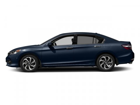 2017 Honda Accord Sedan EX-L V6 Obsidian Blue PearlGRAY LTHR-MED V6 35 L Automatic 0 miles  F
