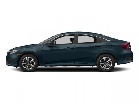 2017 Honda Civic Sedan LX Cosmic Blue MetallicGray Leather V4 20 L Variable 11 miles  Front W