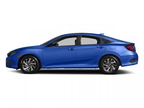 2017 Honda Civic Sedan EX Aegean Blue MetallicBlack V4 20 L Variable 0 miles  Front Wheel Dri