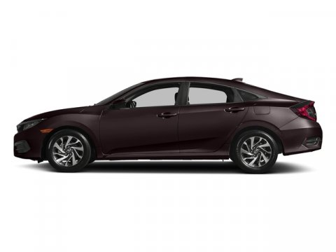 2017 Honda Civic Sedan EX Burgundy Night PearlIVORY CLOTH V4 20 L Variable 11 miles  Front Wh