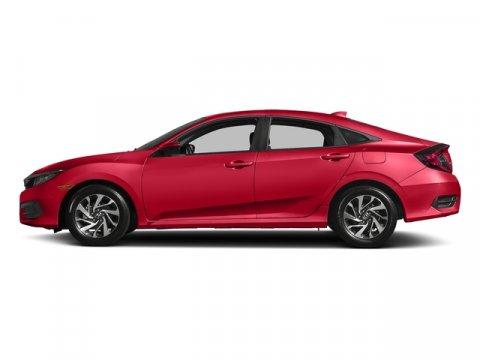 2017 Honda Civic Sedan EX Rallye RedBlack V4 20 L Variable 0 miles  Front Wheel Drive  Power