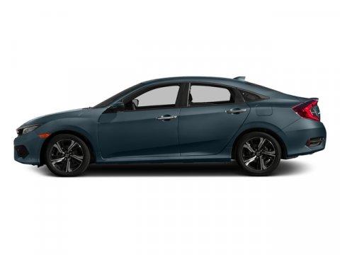 2017 Honda Civic Sedan Touring Cosmic Blue MetallicGray Leather V4 15 L Variable 0 miles  Tur