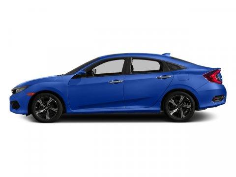 2017 Honda Civic Sedan Touring Aegean Blue MetallicBlack V4 15 L Variable 0 miles  Turbocharg