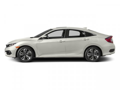 2017 Honda Civic Sedan EX-L White Orchid PearlBlack Leather V4 15 L Variable 7 miles  Turboch