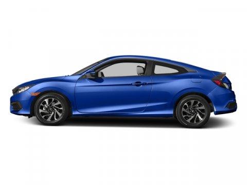 2017 Honda Civic Coupe LX Aegean Blue MetallicBlackGray V4 20 L Manual 0 miles  Front Wheel