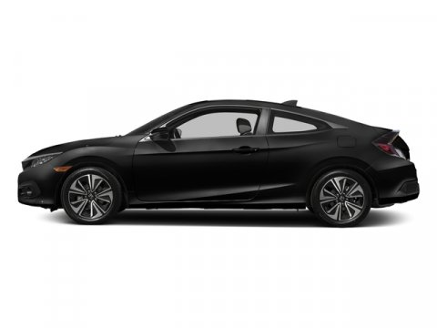 2017 Honda Civic Coupe EX-T Crystal Black PearlBlackIvory V4 15 L Manual 90 miles  Turbochar