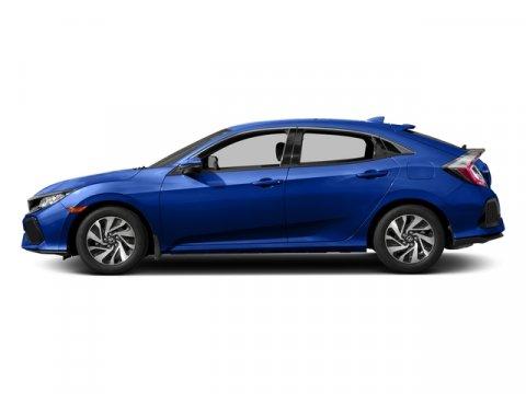 2017 Honda Civic Hatchback LX Aegean Blue MetallicBlack V4 15 L Variable 0 miles  Turbocharge
