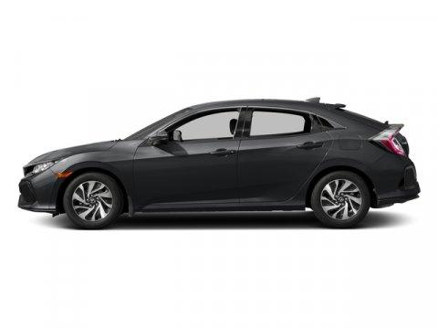 2017 Honda Civic Hatchback LX Polished Metal MetallicBlackIvory V4 15 L Variable 0 miles  Tu