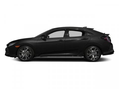2017 Honda Civic Hatchback Sport Crystal Black PearlBlack V4 15 L Variable 0 miles  Turbochar