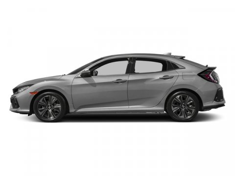 2017 Honda Civic Hatchback EX-L wNav Lunar Silver MetallicBlack V4 15 L Variable 0 miles  Tu