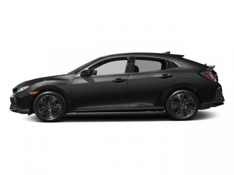 2017 Honda Civic Hatchback EX Crystal Black PearlBlack V4 15 L Variable 0 miles  Turbocharged