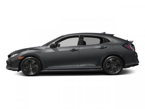 2017 Honda Civic Hatchback EX Polished Metal MetallicBlack V4 15 L Variable 0 miles  Turbocha