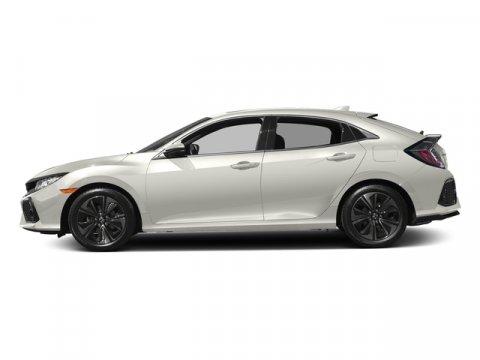 2017 Honda Civic Hatchback EX White Orchid PearlBlackIvory V4 15 L Variable 0 miles  Turboch