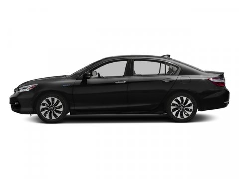 2017 Honda Accord Hybrid Touring Crystal Black PearlBlack V4 20 L Variable 0 miles  Front Whe