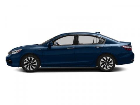 2017 Honda Accord Hybrid Touring Vortex Blue PearlBlack V4 20 L Variable 55 miles  Front Whee