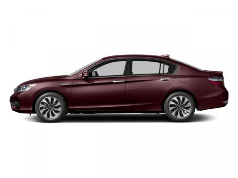 2017 Honda Accord Hybrid Crimson Red PearlIvory V4 20 L Variable 0 miles  Front Wheel Drive