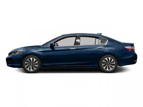 2017 Honda Accord Hybrid EX-L Vortex Blue PearlBlack V4 20 L Variable 0 miles  Front Wheel Dr