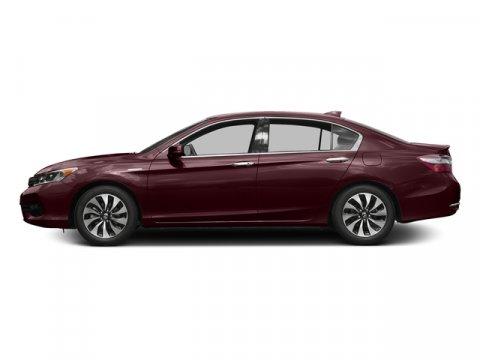 2017 Honda Accord Hybrid EX-L Crimson Red PearlIvory V4 20 L Variable 0 miles  Front Wheel Dr