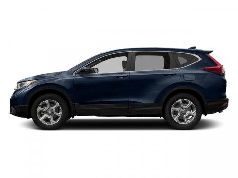 2017 Honda CR-V EX-L with Navigation Obsidian Blue PearlGray V4 15 L Variable 0 miles  Turboc