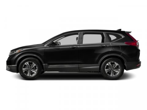 2017 Honda CR-V LX Crystal Black PearlBlack V4 24 L Variable 0 miles  Front Wheel Drive  Pow