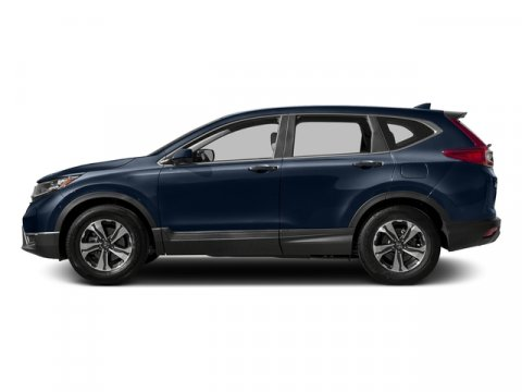 2017 Honda CR-V LX Obsidian Blue PearlGray Leather V4 24 L Variable 3 miles  Front Wheel Driv