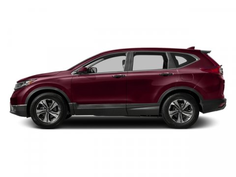 2017 Honda CR-V LX Basque Red Pearl IIGray Leather V4 24 L Variable 0 miles  Front Wheel Driv