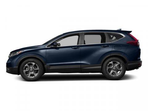 2017 Honda CR-V EX Obsidian Blue PearlGray Leather V4 15 L Variable 0 miles  Turbocharged  F