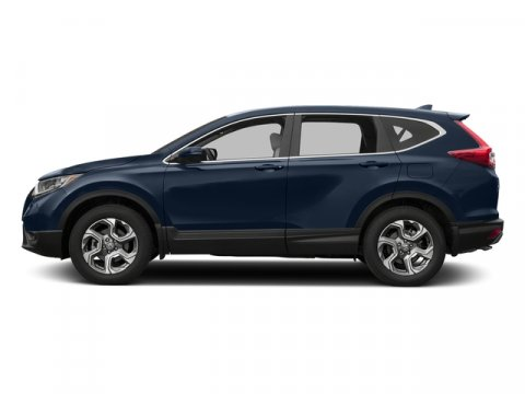 2017 Honda CR-V EX-L Obsidian Blue PearlGray V4 15 L Variable 0 miles  Turbocharged  All Whe
