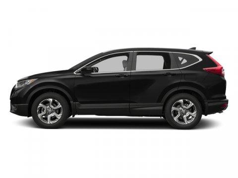 2017 Honda CR-V EX-L Crystal Black PearlIvory V4 15 L Variable 0 miles  Turbocharged  All Wh