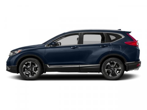 2017 Honda CR-V Touring Obsidian Blue PearlGray Leather V4 15 L Variable 0 miles  Turbocharge