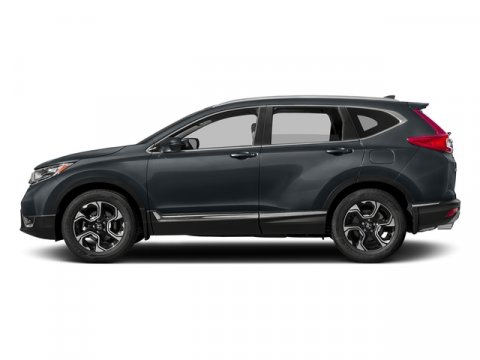 2017 Honda CR-V Touring Gunmetal MetallicGray Leather V4 15 L Variable 7 miles  Turbocharged